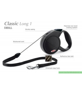 ***FLEXI CLASSIC LONG NOIR SMALL