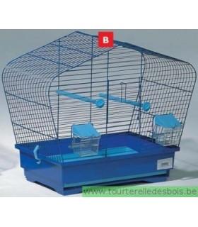 Cage oiseau bleue OTTO