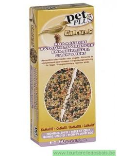 PP cracker canari oeuf miel 2 pièces
