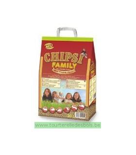 CHIPSI Family 20 Litres - litière maïs - 12 Kg