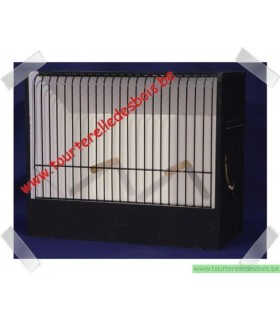 Cage exposition chromée canari 30 x 36 x 15 cm