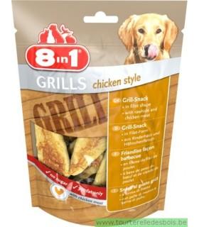 8 in 1 grills chicken style
