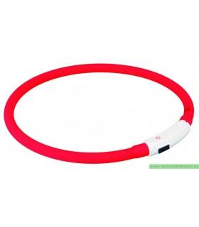 FLASH ANNEAU ROUGE LUMINEUX USB M/L - 45 CM DIAM - 10MM