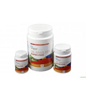 BASSLEER BIOFISH FOOD GSE/MORINGA - M - 600 GRS