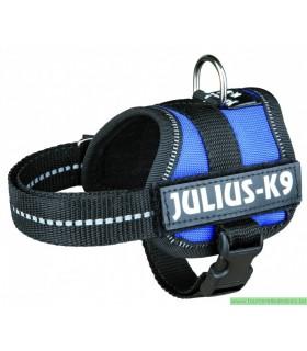 JULIUS-K9 HARNAIS POWER BLEU M-L/58-76CM