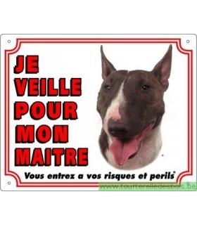 Panneau pvc Bulll terrier
