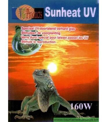 sunheat uv 160 watts