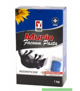 MURIN FACOUM PASTA - RODENTICIDE - 250 GRS
