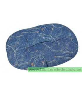 JOLLY Coussin Jeans 70 cm