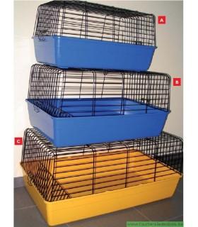 Cage cavie 3 Bicolor FUNNY