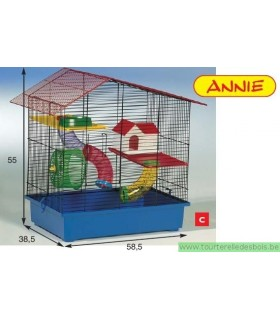 Cage hamster Annie FUNNY