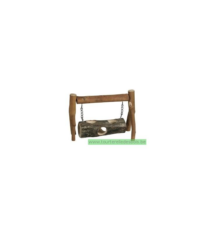 tronc d 39 arbre balan oire en bois large la tourterelle des bois. Black Bedroom Furniture Sets. Home Design Ideas