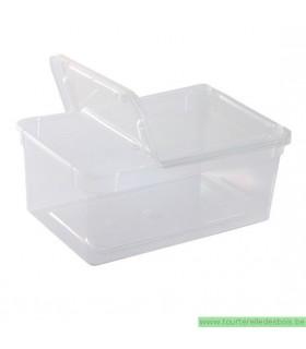 Boîte braplast, transparente 1.3 Litres