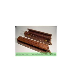 Coffret encens en bois - 30*5*5cm