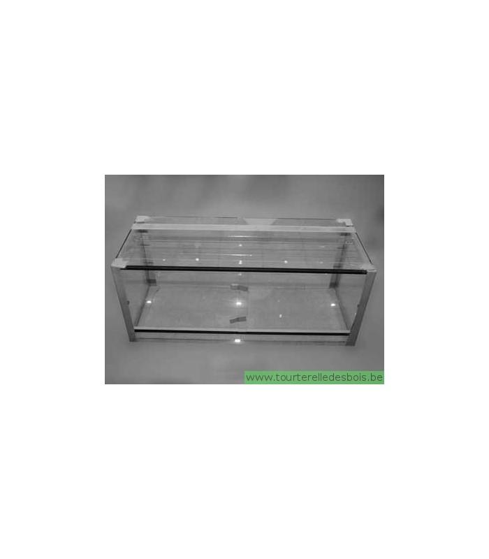 terrarium en verre 120 x 50 x 50 cm la tourterelle des bois. Black Bedroom Furniture Sets. Home Design Ideas