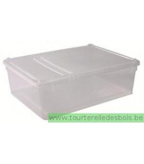 BOÎTE BRAPLAST, TRANSPARENTE 3 LITRES / 24 × 7 × 18 CM