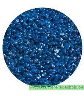AQUALITY Gravier pour aquarium NEON bleu 1 Kg