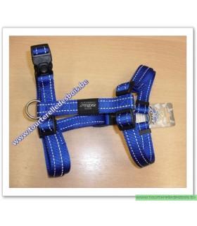 ROGZ Harnais SJ06B 20 MM bleu nylon