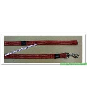 ROGZ Laisse HL11C 16 MM rouge nylon