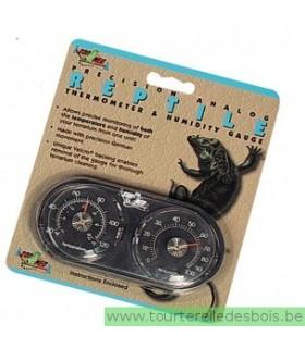 ZM Reptile Thermomètre et Hygromètre [TH-22E]