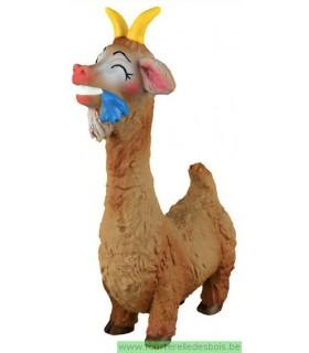 Chèvre en latex de 20 cm