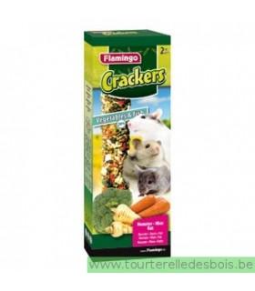 Cracker légumes & poissons - 140 grs. - 2 pièces