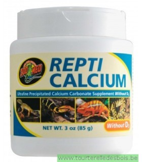 ZM Repti calcium without D3 85 grs