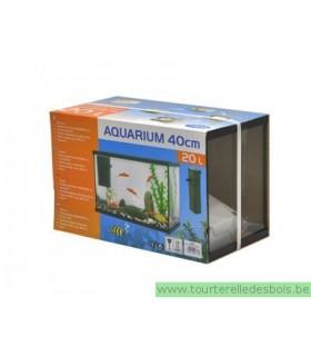 KIT AQUARIUM 20 LITRES / FILTRE+SABLE+PLANTE
