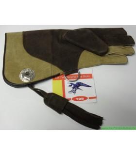 GANT CUIR SUEDE [2] M - BRUN / CAMEL 35CM