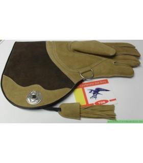 GANT HIVER CUIR SUEDE [2] LARGE - CHAMOIS / BRUN - 38 CM