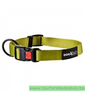 DOGX TO GO COLLIER NYLON VERT - MEDIUM