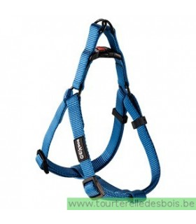 DOGX TO GO HARNAIS NYLON BLEU - MEDIUM