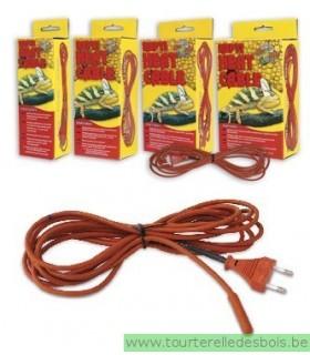 ZM Cable chauffant 15 Watt X mètres n[RHC-15E]