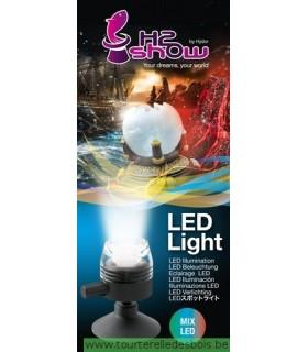 H2O SHOW LED LIGHT ROUGE
