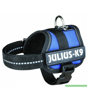 JULIUS-K9 HARNAIS POWER BABY BLEU XS / 30-40CM