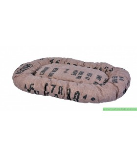 Coussin déhoussable mokka 80 cm