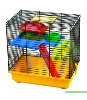 Cage pour hamster caspy