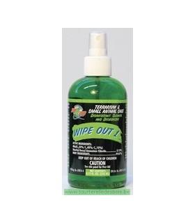 ZM Wipe Out 1 [WO-18]- Désinfectant,et ndésodorisant pour terrariums