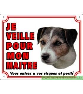 Panneau pvc Jack russel terrier poils durs