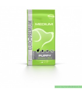 EP MEDIUM PUPPY POULET & RIZ - 12KG