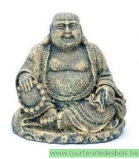 MINI BOUDDHA ASSIS - 5CM