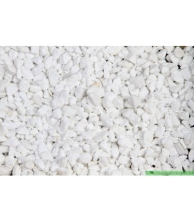 GRAVIER POUR AQUARIUM BLANC SPLIT [ 9-11MM] 10 KG
