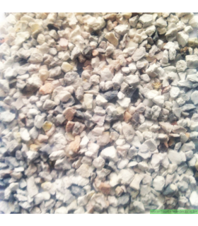 GRAVIER POUR AQUARIUM BLANC CALSTONE [ 2-3MM] 8 KG