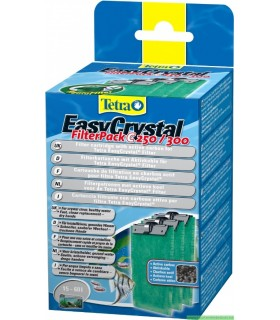 TETRATEC EASY CRYSTAL FILTER PACK 250-300 AU CHARBON DE BOIS