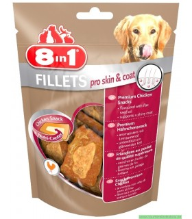 8 IN 1 FILETS PRO SKIN & COAT S