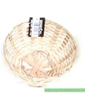 Nid en osier pour canari/crochets 11.50CM