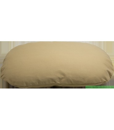 HOUSE OF COLORS COUSSIN OVALE SABLE - M - 75X50CM