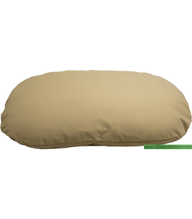 HOUSE OF COLOR COUSSIN OVALE SABLE - L - 85X55CM