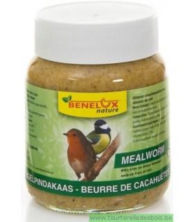 BEURRE DE CACAHUETES + VERS DE FARINE - 350GRS