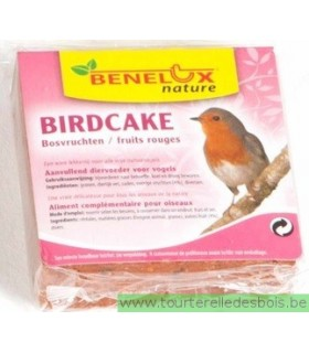 BIRD CAKE AUX FRUITS ROUGES - 300GRS